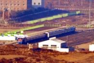 [포토] 나란히 서 있는 남북 열차