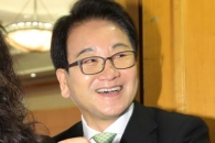 [포토] 환하게 웃는 정동영 평화당 대표