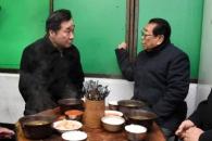 [포토] 이낙연 총리, 송해와 따뜻한 '국밥 한 그릇'