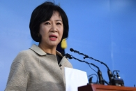 [서울포토] 손혜원 의원, 더불어민주당 탈당 선언