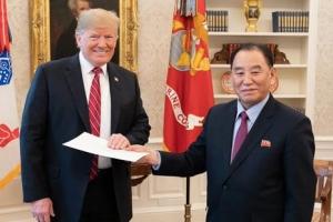 트럼프·김정은 간 친서 25통 내용, 다음달 공개된다