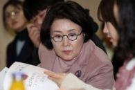 [서울포토] 김정숙 여사, 치매파트너 교육 수강