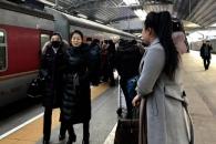 北예술단 베이징 도착…'돌연 무산' 3년여 만에 재공…