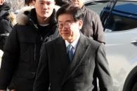[포토] '4차 공판 출석'…법정 향하는 이재명 경기지…