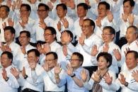한자리 모인 민주당 지역위원장들