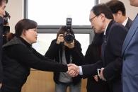 """이해찬, 김용균 빈소 조문…""""진상규명해 재발 막겠다…"""