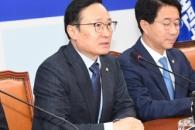 """홍영표 """"5·18 왜곡처벌특별법 조속 마련…여야 4당 …"""