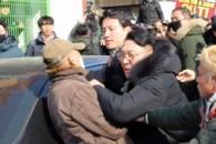 [포토] 광주서 5·18단체 항의받는 김진태