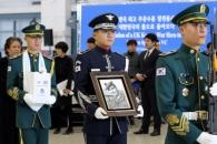 '6·25 전쟁영웅' 윌리엄 스피크먼 유해 봉환식