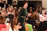 [포토] 김정숙 여사, 외국인들과 함께한 '세계인의 날…