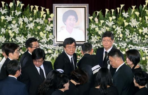 고 이희호 여사 추모식 참석한 정치계 주요 인사들