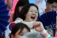 [포토] 김정숙 여사, 광주세계수영선수권대회 방문해 …