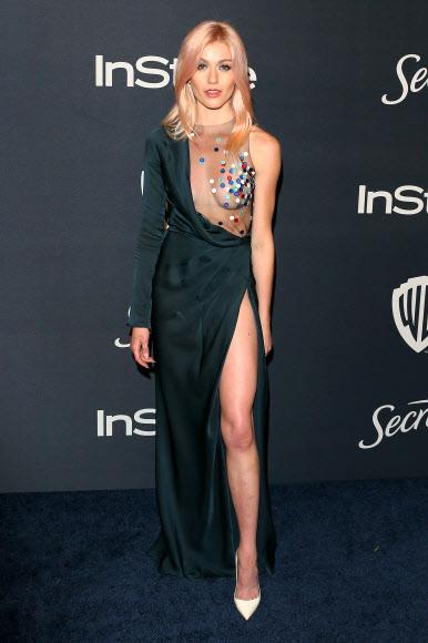 [포토] 캐서린 맥나마라, 아찔한 시스루 드레스