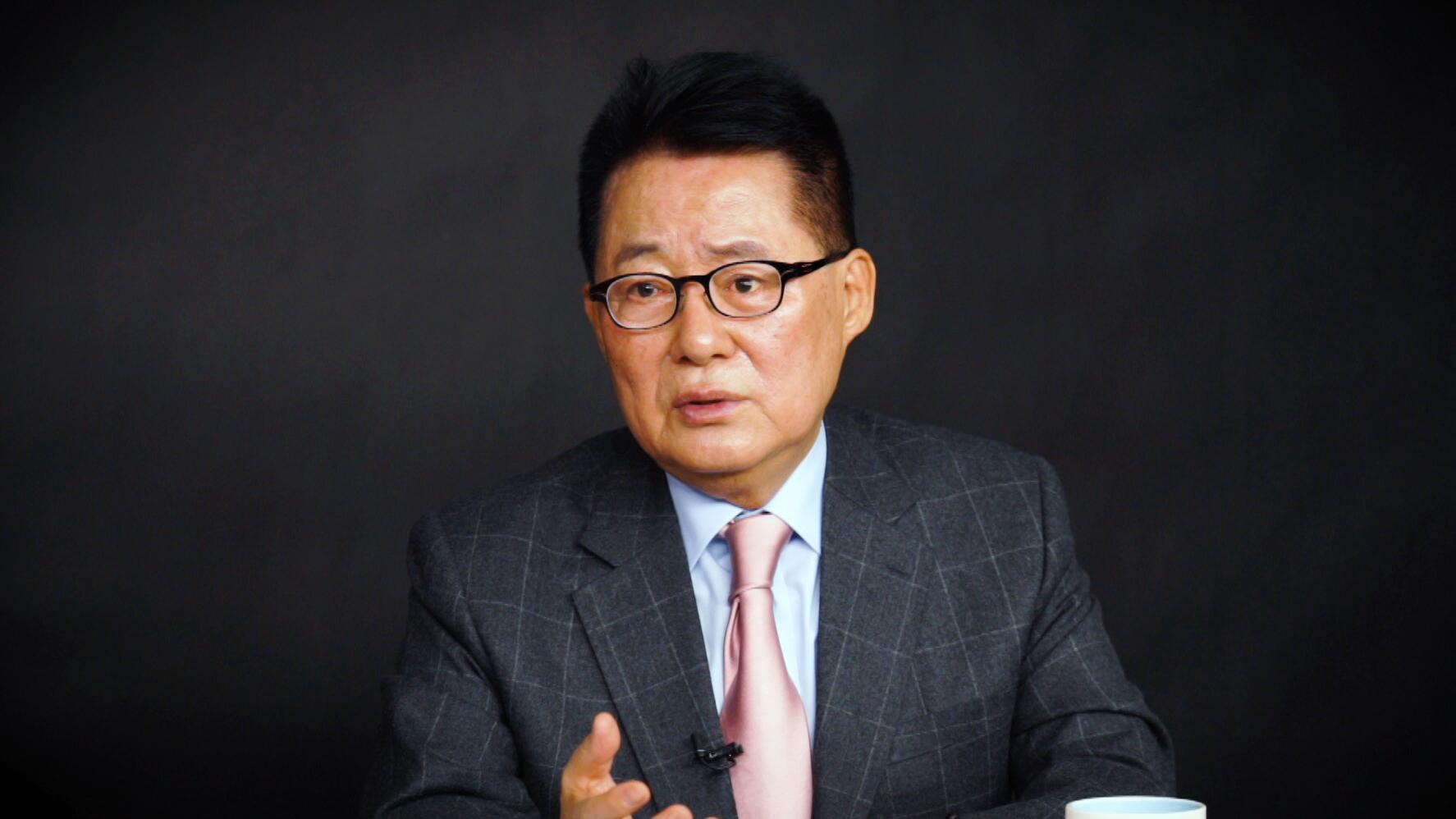 """비례민주당?… 박지원 """"진보 연합 위성정당 필요하다면 민생당, 군소정당 배려할 것"""""""