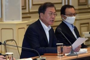 [서울포토] 발언하는 문재인 대통령
