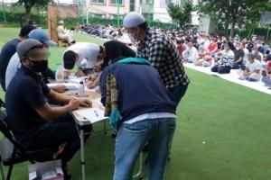 '우즈벡인 집단감염' 청주 이슬람 행사 간 341명 '음성'