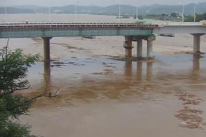 임진강 홍수 경보 … 파주 파평면 일대 주민 대피령