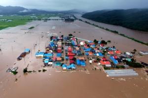철원 한탄천 범람, 임진강 비룡대교 홍수경보… 주민 긴급 대피령