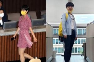 """""""무릎 위 3㎝ 이상 치마 입지 마""""… 직장 내 류호정들 '부글'"""