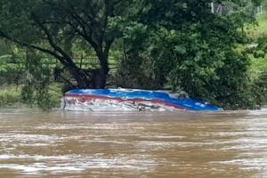 '의암댐 사고' 실종된 경찰정 발견