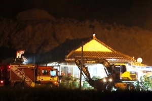 곡성서 산사태로 3명 숨져…추가 매몰자 구조 작업 재개