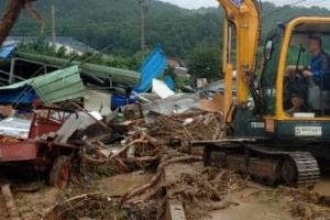 담양 폭우에 대피했던 8세 어린이 숨진 채 발견