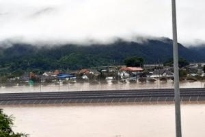 섬진강 제방 무너져 마을 침수…임실서 수십명 고립도(종합)