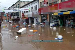 일요일 중부 최대 500㎜ 이상 폭우…남부는 소강