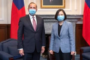 美보건장관 대만 방문