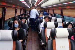 수해지역 봉사활동 떠나는 민주당 위원들