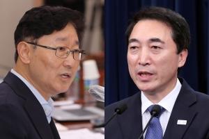 """지지율 하락에 박범계 """"자성할 일 아니다"""" vs 박수현 """"간절하던…"""