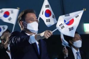 """문 대통령 경축사에 日언론 부정적 평가 """"양보 압박했을 뿐""""(종합…"""