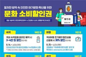 사회적 거리두기 2단계 격상에 문화·여가 소비할인권 시행 중단