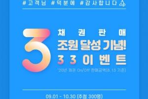삼성증권, 온라인 채권 투자 300명에 상품권 3만원