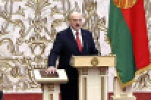 벨라루스 루카셴코 국민 몰래 '도둑 취임'