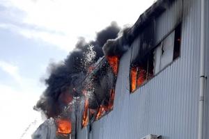 인천 자동차부품 공장서 화재, 1시간 반만에 큰 불길 잡혀(종합)