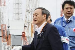 후쿠시마 찾은 스가… 122만t 오염수 방류하나