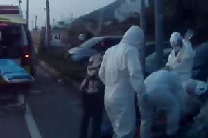 연휴 첫날 6살 어린이 휴게소 도로에서 교통사고로 중상