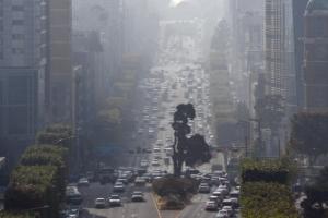 중국발 초미세먼지 한반도 공습… 내일까지 전국 영향권