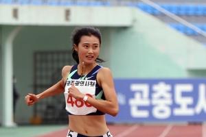 강다슬 여자 일반부 100m, 200m 2관왕 등극
