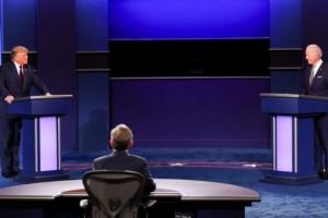트럼프-바이든 내일 마지막 TV토론, '마이크 off' 누구에게 득 될…