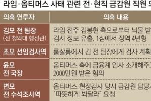 """라임·옵티머스 또 '금피아' 연루… """"금융감독 체계 개편해야"""""""