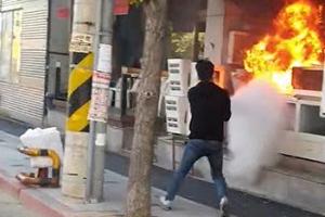 입원 환자 16명 있었다…출근길 병원 입주 건물 화재 진압한 소방관…