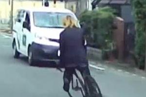 노인·여성 차량 향해 자전거 핸들을 홱! 日 33세 남성 첫 체포