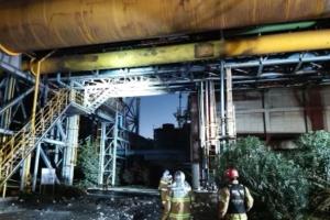 전남 포스코 광양제철소 폭발사고로 작업자 3명 사망
