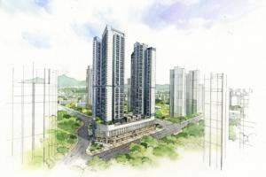 서대구의 중심 황금입지 '힐스테이트 감삼 센트럴'