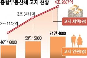 종부세 서울에만 40만명… 1인당 302만원