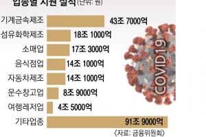 """코로나 금융지원 250조… """"내년 연체 폭탄 터질라"""" 錢錢긍긍"""