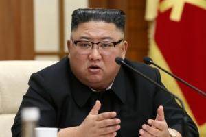 북한 김정은, 정치국 확대회의 주재