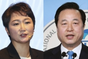 """이언주 """"어느 국민이 '국민 스트레스' 추미애 응원?…김두관 대…"""